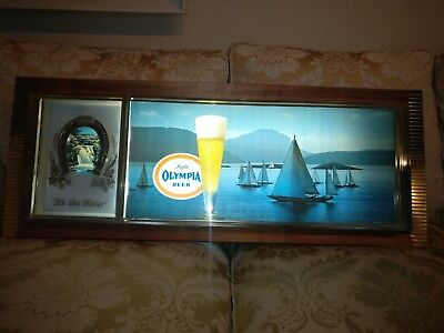 Vintage Olympia Beer Lighted Sign