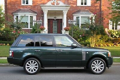 2011 Land Rover Range Rover Supercharged 4x4 4dr SUV 2011 Land Rover Range Rover Supercharged 4x4 4dr SUV Automatic 6-Speed 4X4 V8