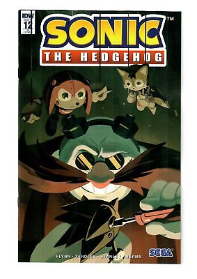 Sonic The Hedgehog #12 (Vol. 3) Fourdraine 1:10 Variant Ri Cover Idw 2019