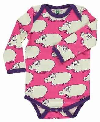 NEW - SMAFOLK Pink Hippo Body - size 68 (6 months)