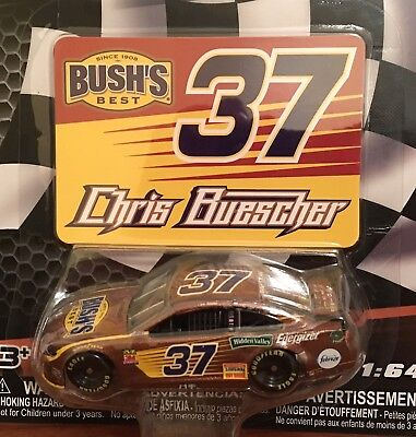 CHRIS BUESCHER #37 Bush's Best AUTHENTICS 2019 NASCAR Die-Cast 1:64 Wave 12