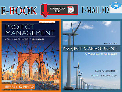 {PDF} Project Management : Achieving Competitive 4Th & A Managerial Approach 8Th