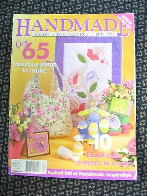HANDMADE MAG Vol23 #2 OOP Easter Bunny Egg cosy Friend flower Bag cushion quilt