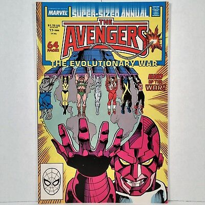 The Avengers Annual - No. 17 - Marvel Comics Group - 1988 - No Reserve!