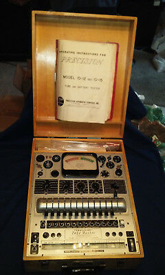 Precision Apparatus Model 10-12 'electronamic' Tube-Master Tube Tester