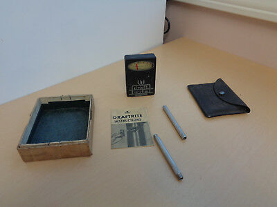 Nice Vintage Bacharach Draftrite Chimney Draft Gauge with Box & Instructions