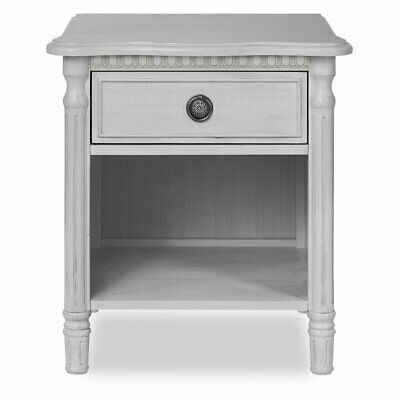 Evolur Julienne 1 Drawer Night Stand