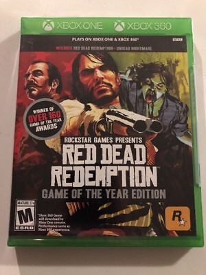 Red Dead Redemption: Game of the Year Edition - Xbox One / Xbox 360 New Sealed