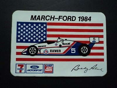 1984 Bobby Rahal March Ford Racing Decal Sticker Indianapolis 500 Indy Car