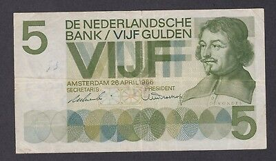 -Auction- Netherlands 1966 5 Gulden