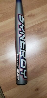 Slow Pitch Softball Bat Easton Synergy Extended 28 Oz OG