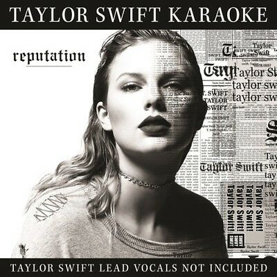 Taylor Swift Reputation Karaoke CD & DVD NEW
