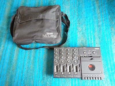 Yamaha MT50 Multi Channel Cassette Recorder 4 Track w/ Case, AC Adapter - C446