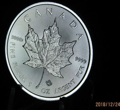 Canada Just Release 2019 Silver Maple Leaf 1 oz Coin .9999  Here in STOCK