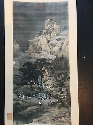 old chinese painting picture missionary estate