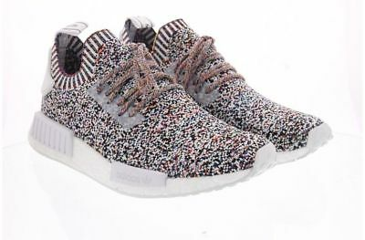 08ff1853e76 ADIDAS NMD R1 White Black Rainbow Multicolor Multi Bw1126