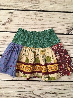 Matilda Jane girl Blarney Stone Molly Skirt Paint by Numbers Size 4 EUC