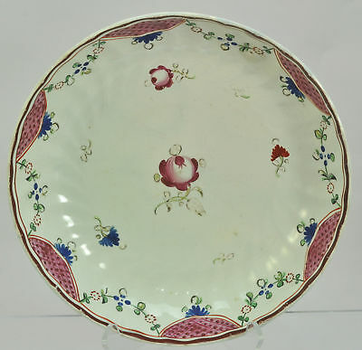 Staffordshire Pearlware Chinoiserie Famille Rose Bowl Dish Early 19th Century