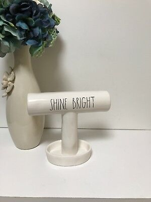 New! Rae Dunn Shine Bright Bracelet Ring Jewelry Holder Ll