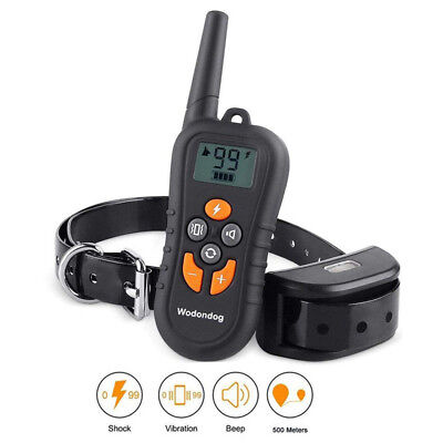 Dog Training Collar Electric Shock Vibration Waterproof rechargeable dog product