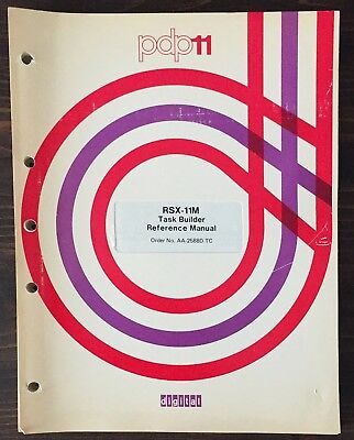 Digital DEC PDP-11 RSX-11M Task Builder Reference Manual 1977