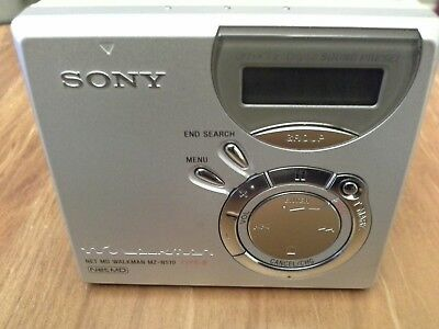 Sony Minidisc.mz N510 .net. Mdlp. In Car Canction Cassette Player. !