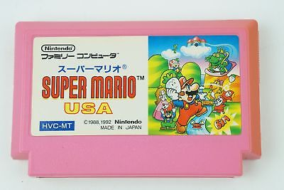 Super Mario USA NES Nintendo Famicom From Japan