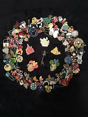 Disney Pins lot of 500 Same day FREE shipping- US Seller 100% Trade-able