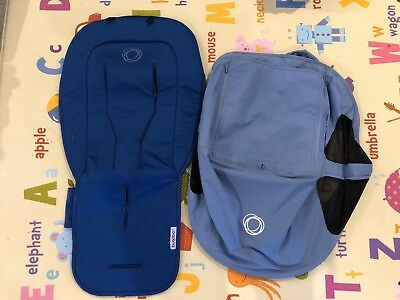 bugaboo sun canopy and seat liner