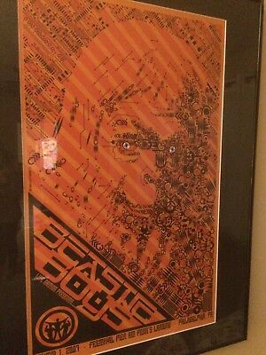 Beastie Boys Silkscreen Concert Posters Numbered Signed