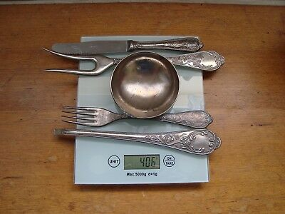 Silver Scrap Lot of 800 Silver Cutlery - 400 grams