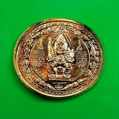 Coin Mahayant 9 Kings, Thai Amulet Buddha For Protection Life, Lucky Pendant