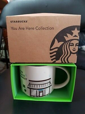 NEW WITH BOX Starbucks SEATTLE PIKE PLACE You Are Here Series Collection Mug Cup
