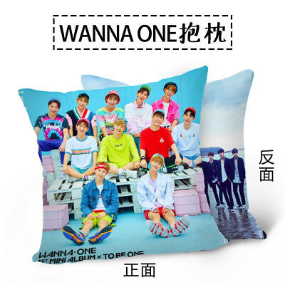 KPOP WANNA ONE TO BE ONE Throw Pillow Double-side Sofa Home Decor Waist Pillow