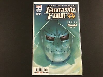 Fantastic Four #6 (2019) NM Marvel Comics 1st Print