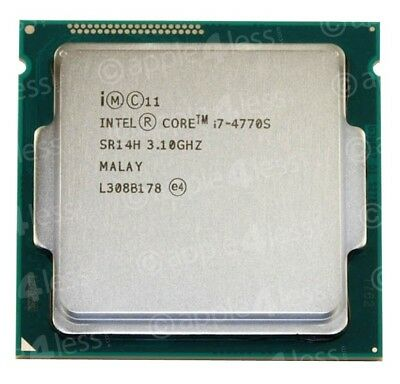Intel Core i7-4770S Quad Core SR14H 3.1-3.9GHz 65W LGA1150 Desktop CPU
