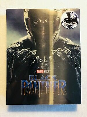 Black Panther Lenticular Full Slip Blu-ray Steelbook BLUFANS