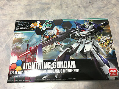 HGBF Lightning Gundam Model Kit 1/144 Gunpla Bandai