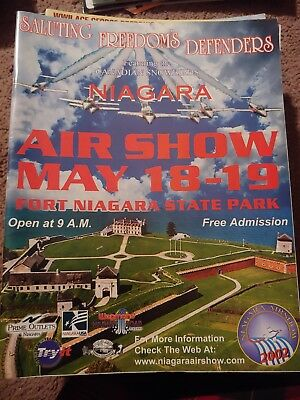 Niagara Air Show 2002 Program