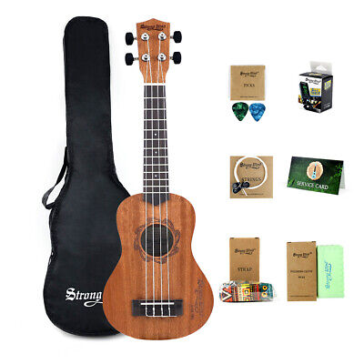 Ukulele Perfect Beginner Starter Child Adult Uke Ukelele Birthday Guitar Brown