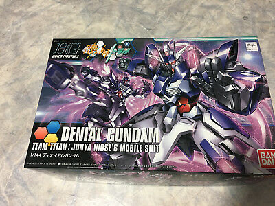 HGBF Denial Gundam Model Kit 1/144 Gunpla Bandai Build Fighters