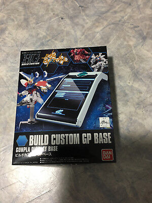 HGBF Custom GP Base Stand Gundam Model Kit 1/144 Gunpla Bandai