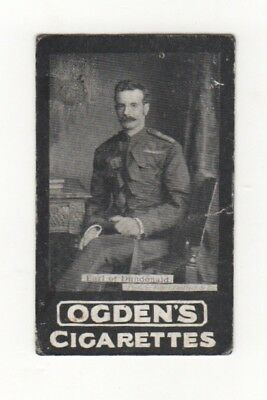 Ogden cigarette card: Earl of Dundonland - Ladysmith