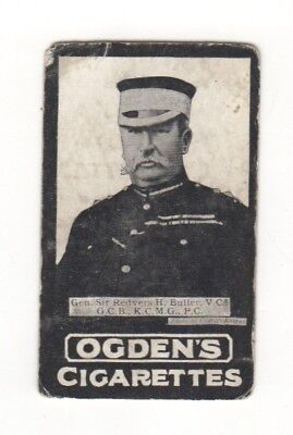 Ogden cigarette card: General Buller - Natal