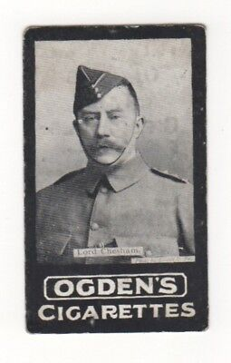 Ogden cigarette card: Lord CC Chesham - Pretoria