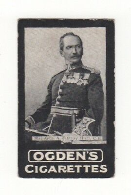Ogden cigarette card: Major-General A Fitzroy-Hart - Boer War