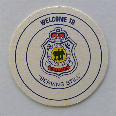 RSL Returned Services League Serving Still Generic Coaster (B349)