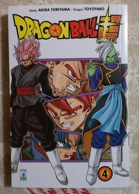 Fumetto Manga Star Comics Dragon ball Super 4 Akira Toriyama Nuovo