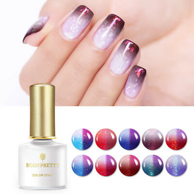 6ml BORN PRETTY Soak off UV Gel Polish Sunlight Thermal Color Changing Gel Nail