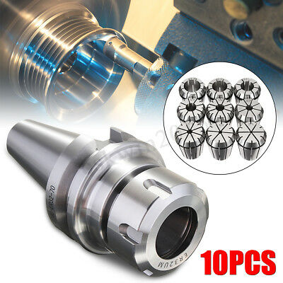 "4x CAT40 ER20 100 4/"" Collet Chuck Tool Holder For CNC Milling Machines"